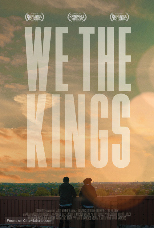We the Kings - British Movie Poster