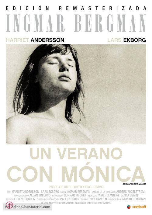 Sommaren med Monika - Spanish Movie Poster