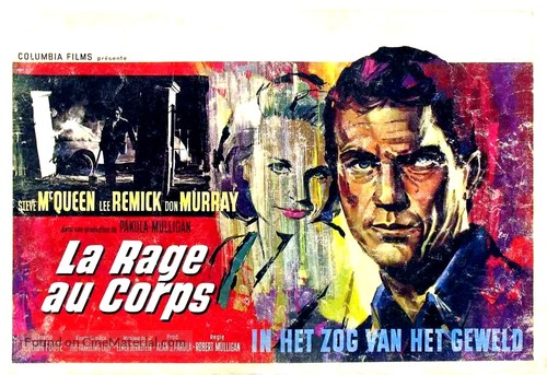 Baby the Rain Must Fall - Belgian Movie Poster