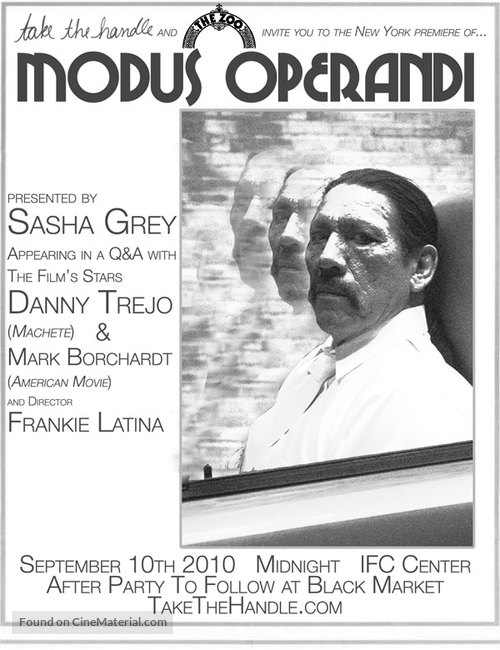 Modus Operandi - Movie Poster