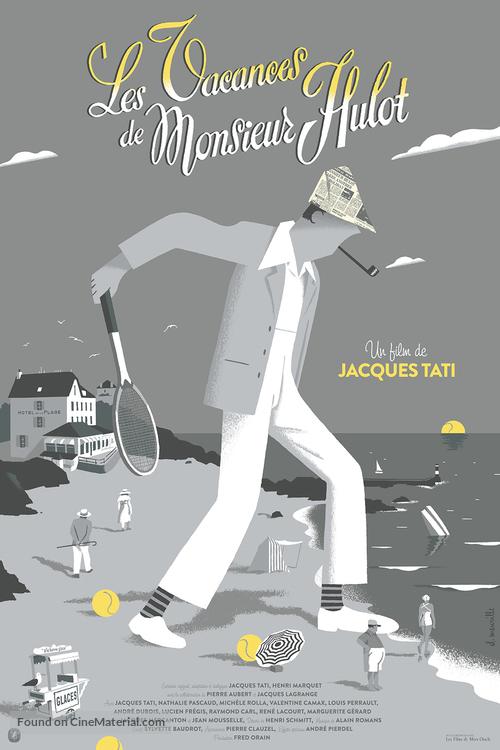 Les vacances de Monsieur Hulot - Belgian Re-release movie poster