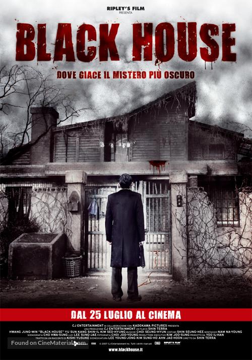 Geomeun jip - Italian Movie Poster