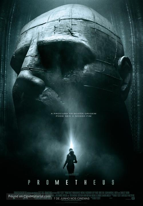 Prometheus - Portuguese Movie Poster