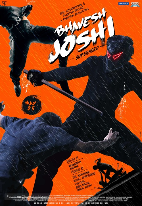 Bhavesh Joshi Superhero - Indian Movie Poster