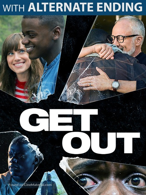 Get Out - DVD cover