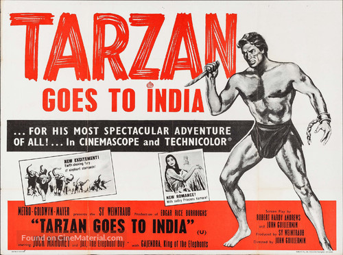 Tarzan Goes to India - Movie Poster