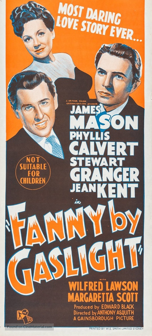 fanny-by-gaslight-australian-movie-poste