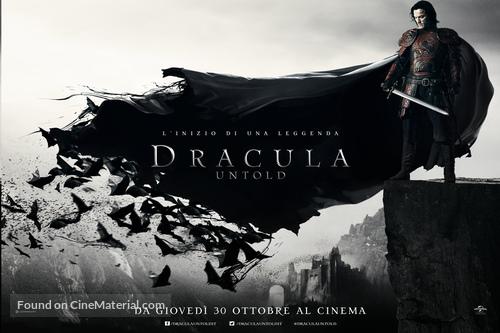 Dracula Untold - Italian Movie Poster