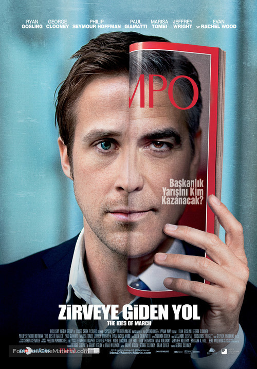 The Ides of March - Turkish Movie Poster