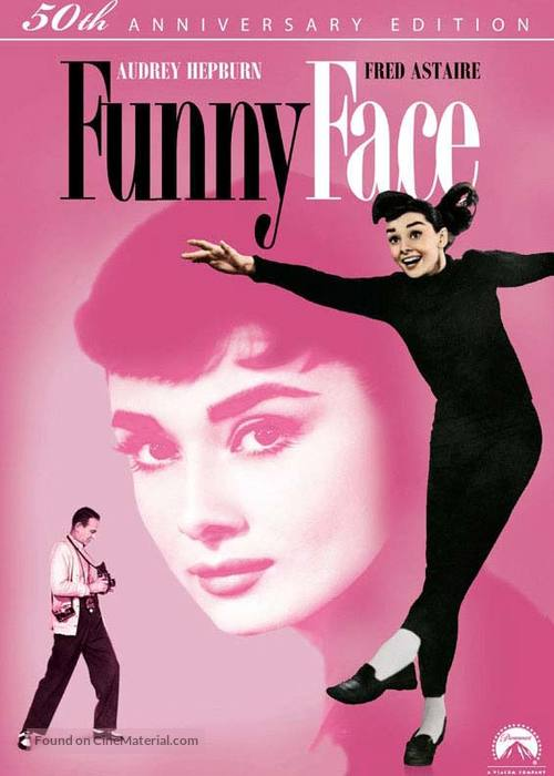 Funny Face - DVD movie cover