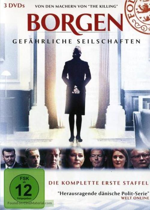 """Borgen"" - German DVD cover"