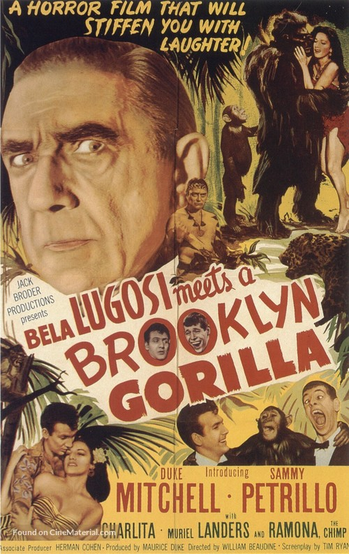 Bela Lugosi Meets a Brooklyn Gorilla - Movie Poster