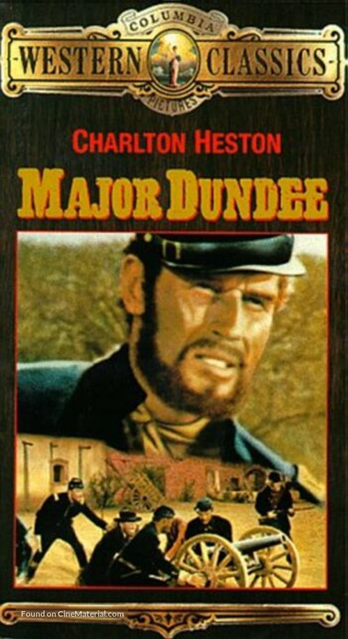 Major Dundee - VHS cover