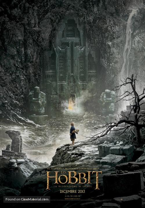 The Hobbit: The Desolation of Smaug - Italian Movie Poster
