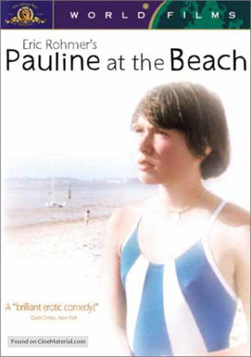 Pauline à la plage - DVD movie cover