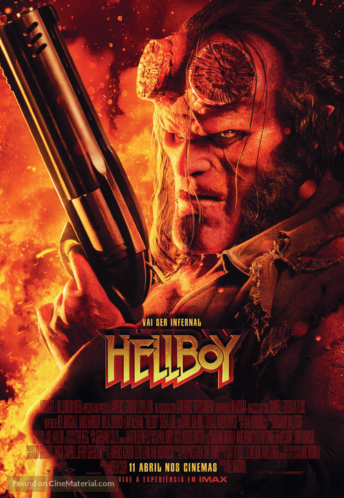 Hellboy - Portuguese Movie Poster