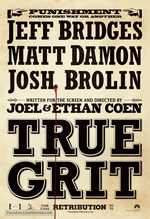 True Grit - Movie Poster