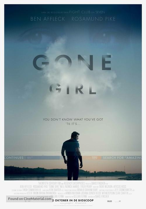 Gone Girl - Dutch Movie Poster