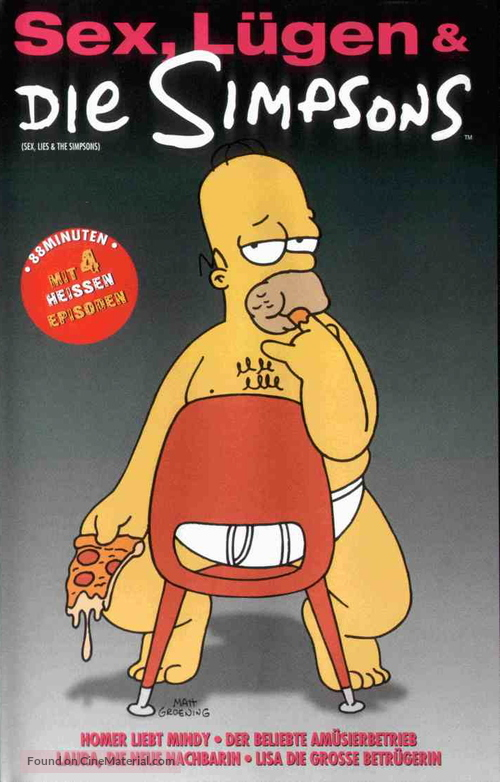 """""""The Simpsons"""" - German Movie Cover"""