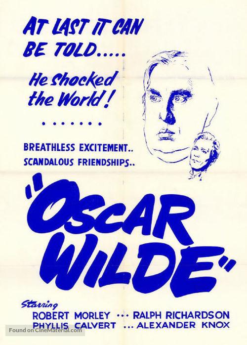 Oscar Wilde - Movie Poster