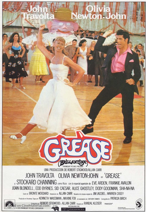 Grease - Spanish Movie Poster