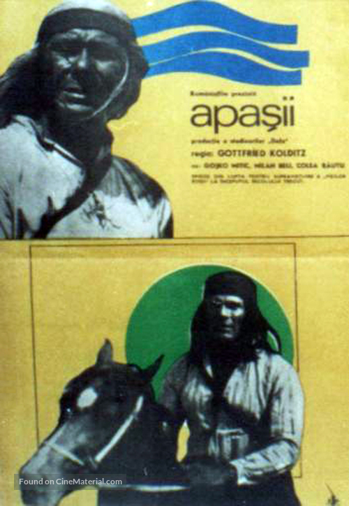 Apachen - Romanian Movie Poster