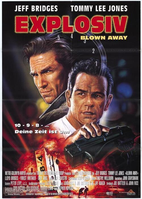 Blown Away - German Movie Poster