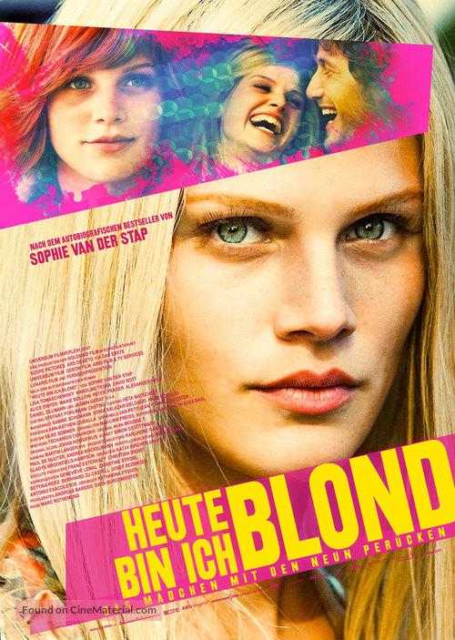 Heute bin ich blond - German Movie Poster