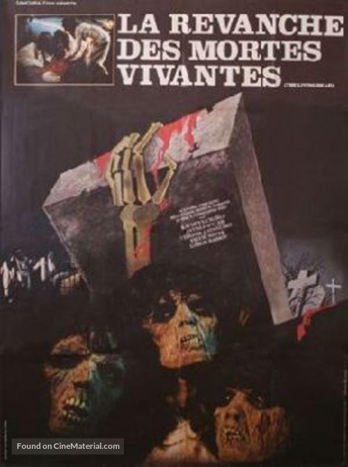 La revanche des mortes vivantes - French Movie Poster