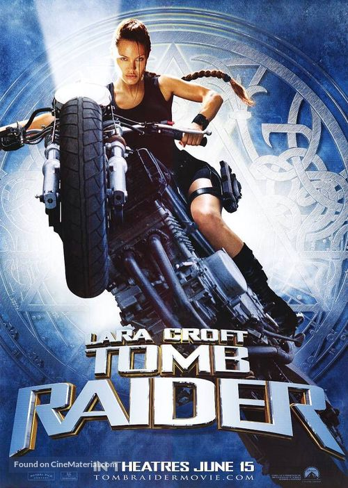 Lara Croft: Tomb Raider - Teaser poster