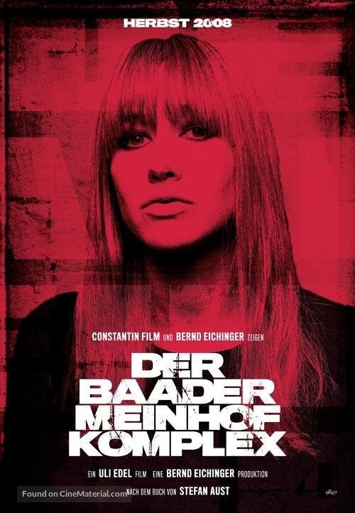 Der Baader Meinhof Komplex - German Movie Poster