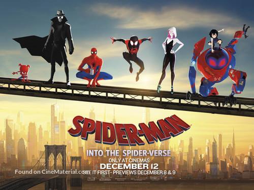 Spider-Man: Into the Spider-Verse - British Movie Poster