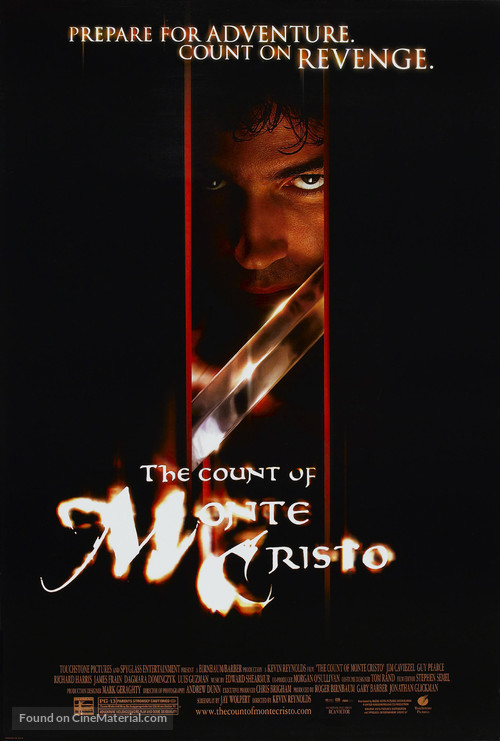 The Count of Monte Cristo - Movie Poster