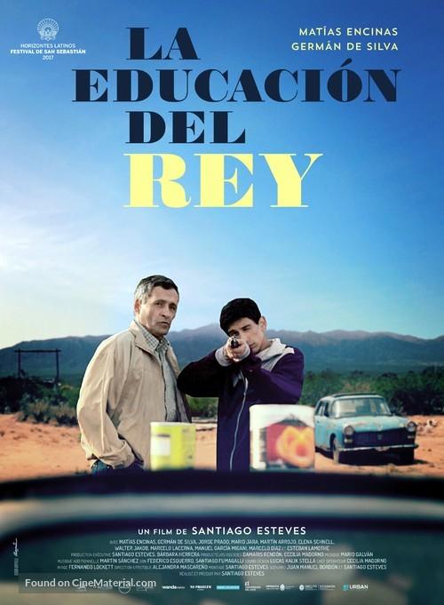 La educación del Rey - French Movie Poster