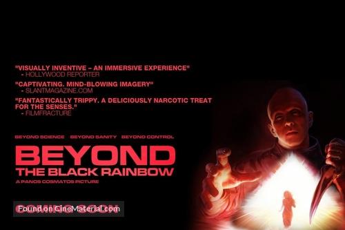 Beyond the Black Rainbow - British Movie Poster