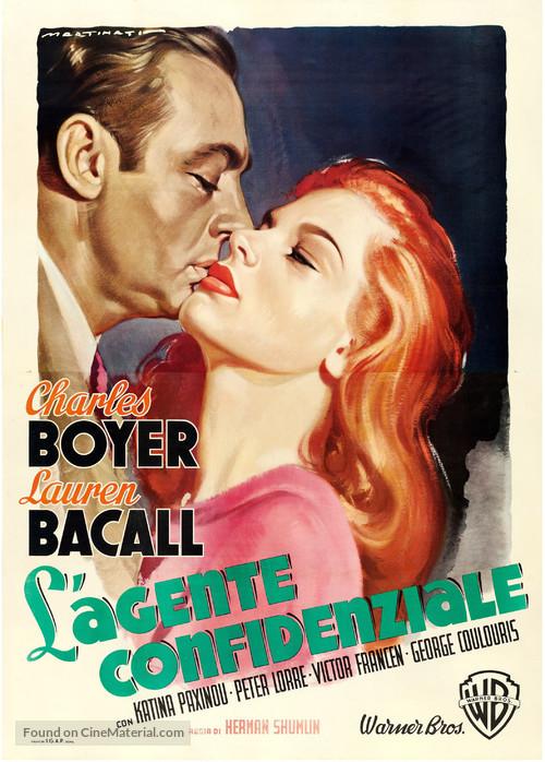 Confidential Agent - Italian Movie Poster