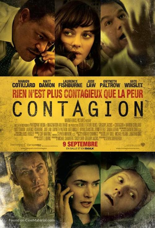 Contagion - Canadian Movie Poster