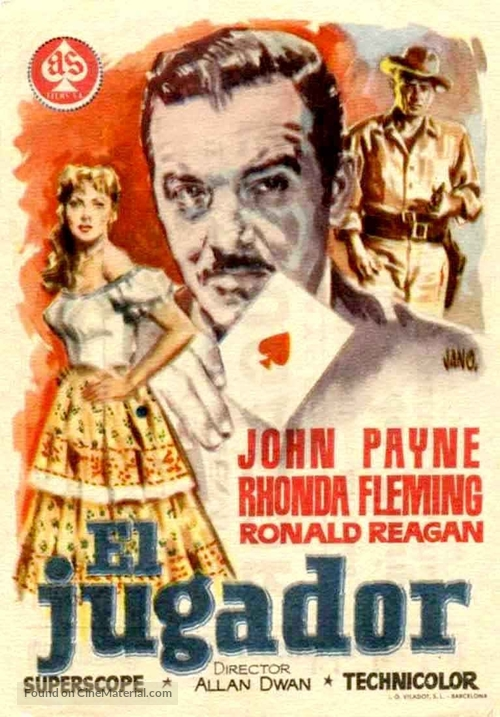 Tennessee's Partner - Spanish Movie Poster
