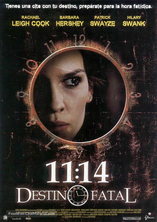 11:14 - Spanish Movie Poster