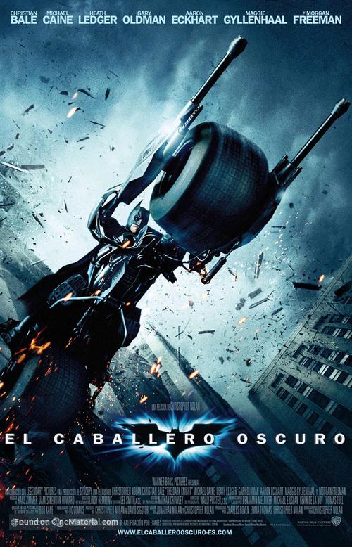 The Dark Knight - Spanish Movie Poster