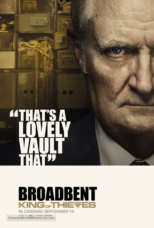 King of Thieves - British Movie Poster