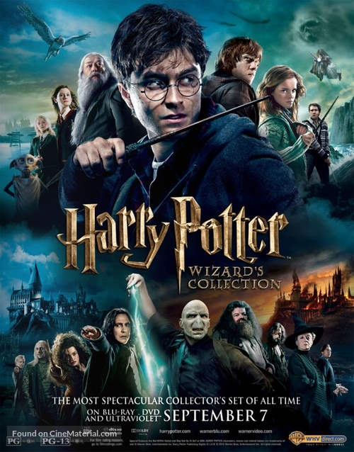 Image result for harry potter all movies blu ray""