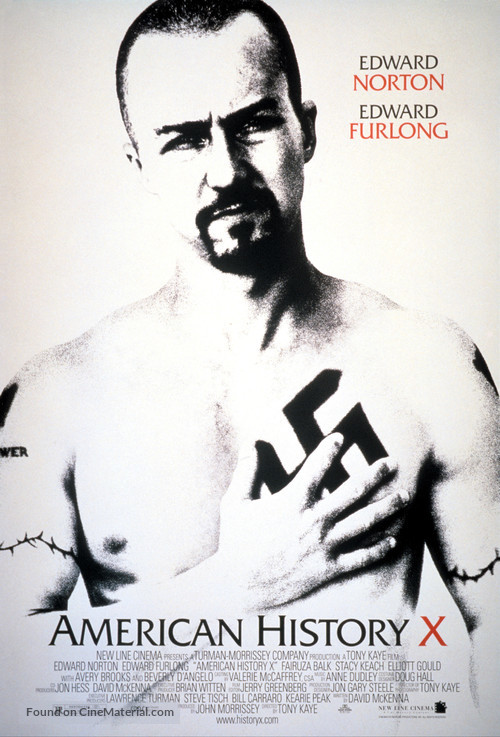American History X - Movie Poster