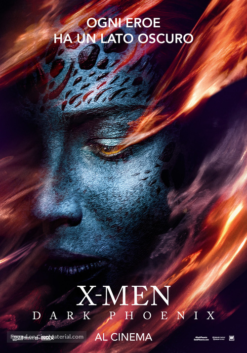 X-Men: Dark Phoenix - Italian Movie Poster