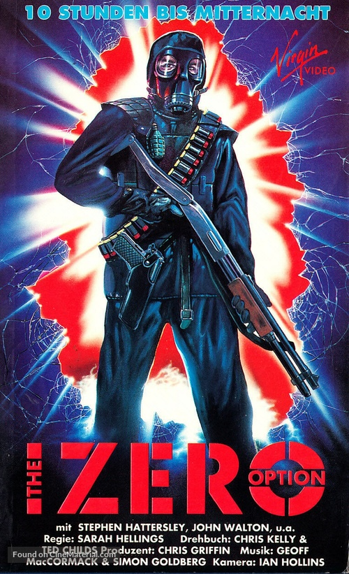 The Zero Option - German VHS cover
