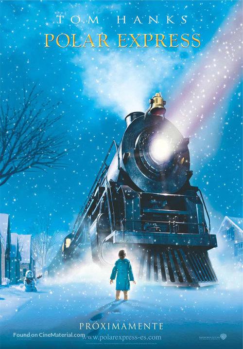 The Polar Express - Spanish Teaser movie poster