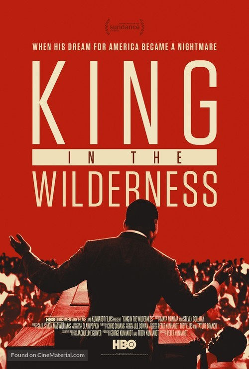 King in the Wilderness - Movie Poster