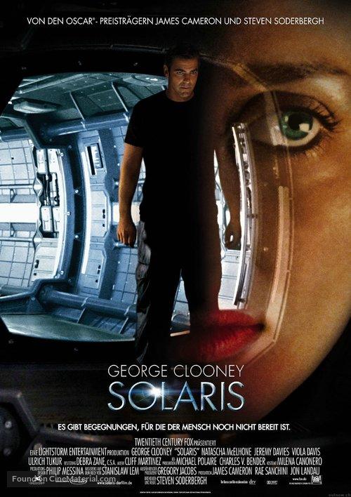 Solaris - German Movie Poster