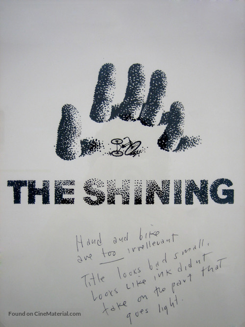 The Shining - Concept poster
