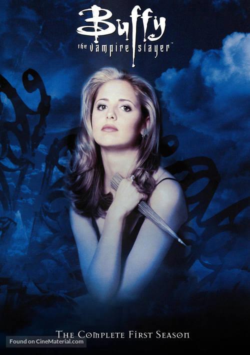 """Buffy the Vampire Slayer"" - DVD cover"